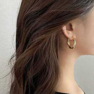 BEAUTY&YOUTH UNITED ARROWS - #524 import pierce : PRAY gold S925