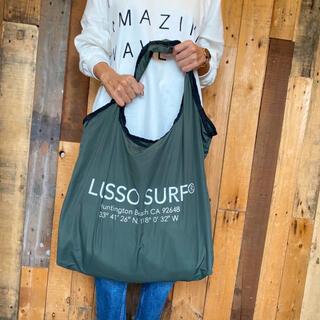アリシアスタン(ALEXIA STAM)の西海岸ファッション☆LUSSO SURF エコバッグ トートバッグ カーキ(トートバッグ)