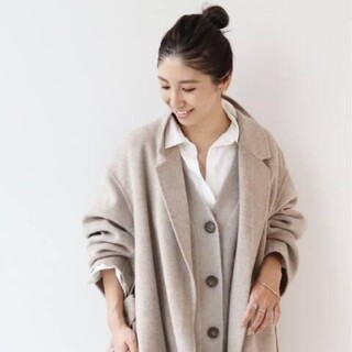 Plage - お値下げ♡Plage ハミルトンベルテッドコート 正規品36