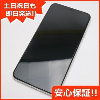 アイフォーン(iPhone)の美品 SIMフリー iPhone 11 Pro Max 512GB シルバー (スマートフォン本体)