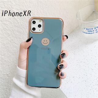 大人気!iPhoneXR にこちゃん カバー ケース グレー(iPhoneケース)