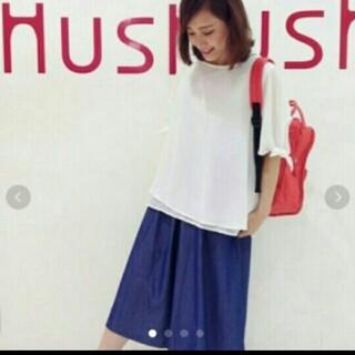 ハッシュアッシュ(HusHush)の新品タグ付き!ブラウス&タンクトップセット(シャツ/ブラウス(半袖/袖なし))