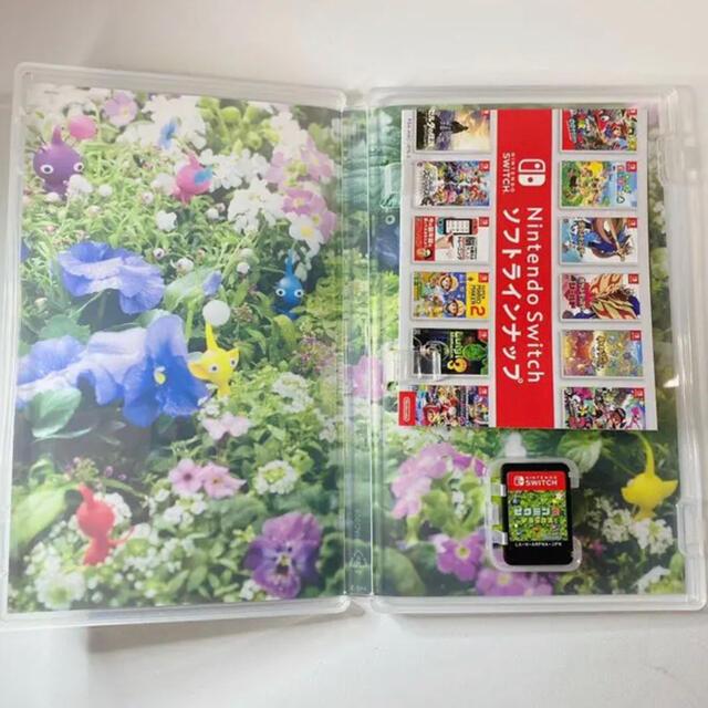 任天堂(ニンテンドウ)の【最終価格】ピクミン3 デラックス スイッチ エンタメ/ホビーのゲームソフト/ゲーム機本体(家庭用ゲームソフト)の商品写真