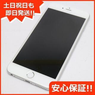アイフォーン(iPhone)の中古 SOFTBANK iPhone6 PLUS 128GB シルバー (スマートフォン本体)
