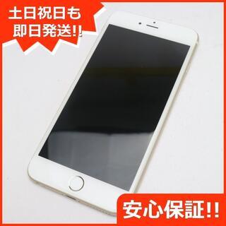 アイフォーン(iPhone)の美品 au iPhone6 PLUS 16GB ゴールド 白ロム(スマートフォン本体)