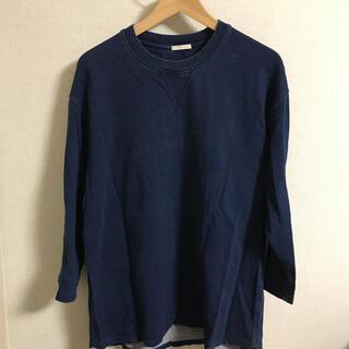GU - GU メンズ インディゴTシャツ Lサイズ