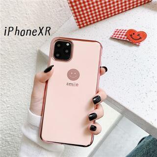 大人気!iPhoneXR にこちゃん カバー ケース ピンク(iPhoneケース)