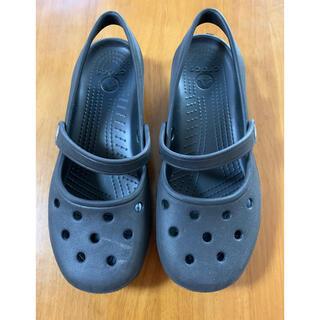 crocs - crocs サンダル スリッポン フラットシューズ