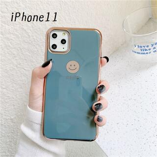 大人気!iPhone11 にこちゃん カバー ケース グレー(iPhoneケース)