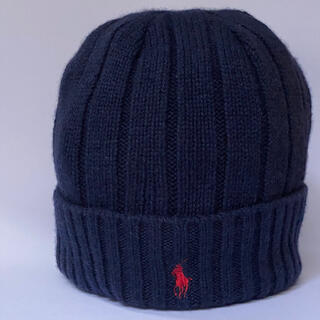 ポロラルフローレン(POLO RALPH LAUREN)のポロラルフローレン ニット帽 男女兼用 ベーシック 防寒 (ニット帽/ビーニー)