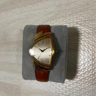 ベンチュラ(VENTURA)の希少品! HAMILTON ベンチュラ 6108 ゴールド エルビスプレスリー(腕時計(アナログ))