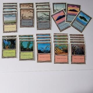 マジックザギャザリング(マジック:ザ・ギャザリング)の第4版 基本土地セット34枚 英語 /4ED MTG(シングルカード)