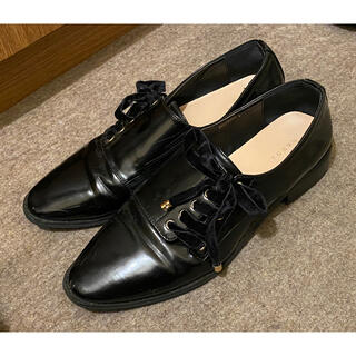 ランダ(RANDA)のフラットシューズ(ローファー/革靴)