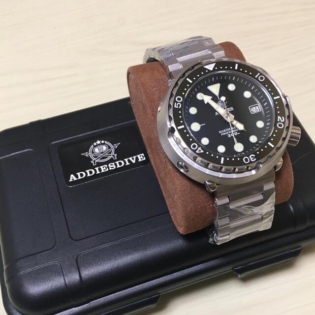 SEIKO(セイコー)の最終価格 美品 SEIKO製NH35搭載 ツナ オマージュ品 メンズの時計(腕時計(アナログ))の商品写真