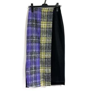GRACE CONTINENTAL - ダイアグラム ロングスカート サイズ36 S