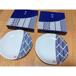 タチキチ(たち吉)のたち吉 木曽路 お皿 七宝2枚セット(食器)