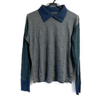 イッセイミヤケ(ISSEY MIYAKE)のイッセイミヤケ 長袖カットソー サイズ1 S(Tシャツ/カットソー(七分/長袖))