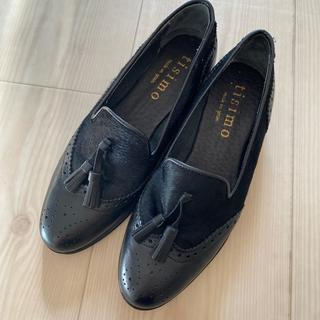 イエナスローブ(IENA SLOBE)のタッセル付きスリッポン タッセルローファー(ローファー/革靴)