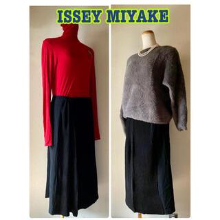 イッセイミヤケ(ISSEY MIYAKE)のイッセイミヤケ プリーツスカート ロングスカート(ロングスカート)