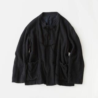 COMOLI - comoliコモリ  20aw ビオトープ別注シルクフリースチャイナジャケット