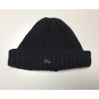 バーバリーブルーレーベル(BURBERRY BLUE LABEL)のBurberry バーバリー のニット帽♡ブラック♡(ニット帽/ビーニー)