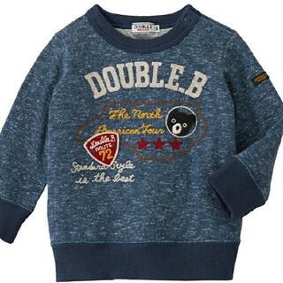 ダブルビー(DOUBLE.B)のダブルビー トレーナー 100(Tシャツ/カットソー)