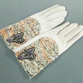 アナスイ(ANNA SUI)のアナスイ 手袋 レディース美品  - ウール(手袋)