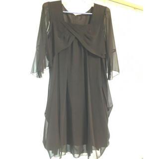 ニッセン(ニッセン)のニッセン 大きいサイズ フォーマルワンピース(礼服/喪服)