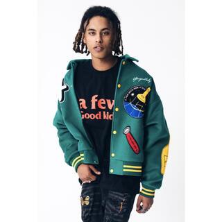 KAPITAL -  新品 大人気 AFGK スタジャン グリーン 緑 カレッジジャケット 刺繍