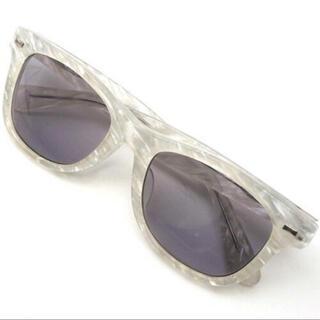 ロンハーマン(Ron Herman)のRon Herman ロンハーマン × 金子眼鏡 サングラス クリア×ホワイト(サングラス/メガネ)