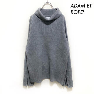 アダムエロぺ(Adam et Rope')のADAM ET ROPE' アダムエロペ★タートルネック 長袖ニット セーター(ニット/セーター)