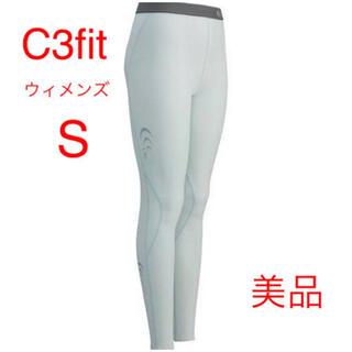 シースリーフィット(C3fit)のC3fit / シースリーフィット パフォーマンスロングタイツ ホワイト(ウェア)