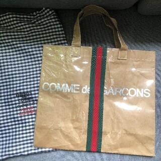 コムデギャルソン(COMME des GARCONS)のcommedesgarcons 限定トートバッグ 袋付き(トートバッグ)