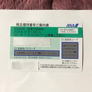 エーエヌエー(ゼンニッポンクウユ)(ANA(全日本空輸))の⭐️送料込 ANA株主優待割引券 2021.11.30まで期限⭐️(航空券)