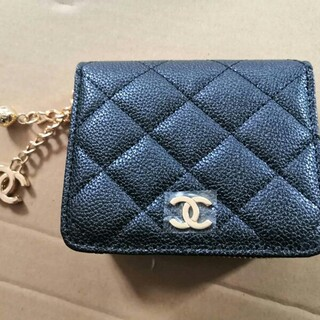 CHANEL - ❤️ノベルティ 三つ折り財布🌈