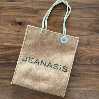JEANASIS - ジーナシス JEANASiS ショップ袋 限定 フェルト
