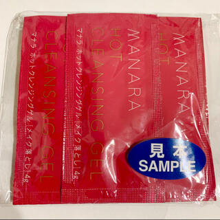 マナラ(maNara)のマナラ ホットクレンジングゲル メイク落とし  4g × 7袋(クレンジング/メイク落とし)