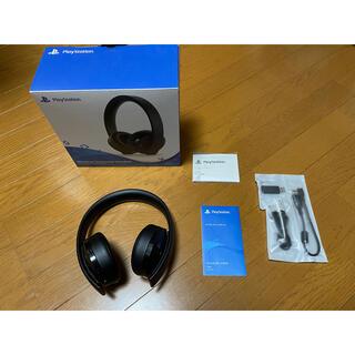 ソニー(SONY)のワイヤレスサラウンドヘッドセット PS4(ヘッドフォン/イヤフォン)