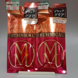 フローフシ(FLOWFUSHI)のTECHNICAL01 フローフシ モテマスカラ グロス&コート2本セット(マスカラ)