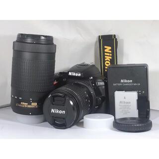 Nikon - 【新品級!!】Nikon D5600 ダブルズームキット