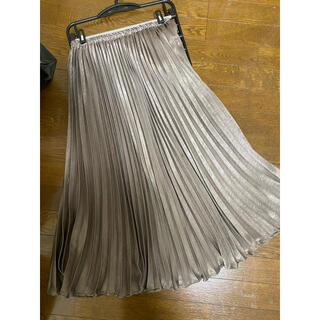 ナイスクラップ(NICE CLAUP)のロングプリーツスカート(ロングスカート)