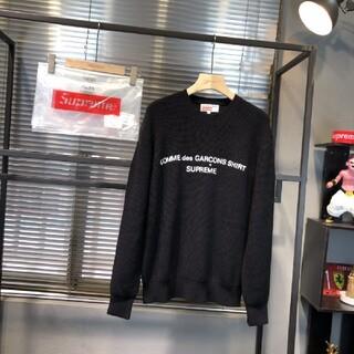 コムデギャルソン(COMME des GARCONS)の 新品未使用    Sup x CDG   ニットのセーター  男女兼用(ニット/セーター)