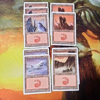マジックザギャザリング(マジック:ザ・ギャザリング)の第7版 山4種9枚セット 英語版/7ED MTG(シングルカード)