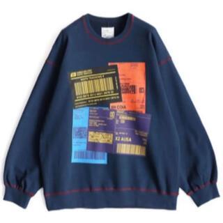SHAREEF - シャリーフshareef  バーコード スウェットTシャツ