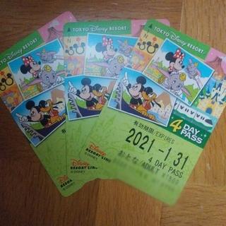 ディズニー(Disney)のディズニーリゾートライン フリーチケット(その他)