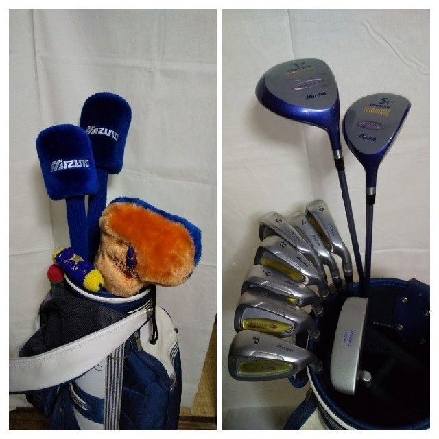 MIZUNO(ミズノ)のミズノ ゴルフクラブ レディース 右利き スポーツ/アウトドアのゴルフ(クラブ)の商品写真