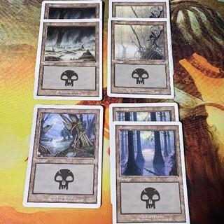 マジックザギャザリング(マジック:ザ・ギャザリング)の第7版 沼4種7枚セット 英語版 /7ED MTG(シングルカード)