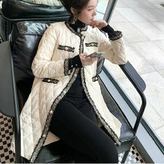 eimy istoire - 新品 キルティング ツイード ラメ ジャケット コート