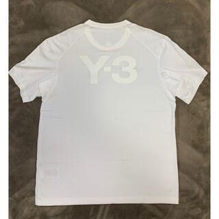 Y-3 - Y-3 半袖バックロゴTシャツ ホワイト サイズM