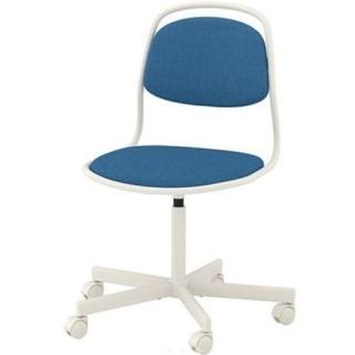 イケア(IKEA)の12月6日まで IKEA イケア デスクチェア 昇降式 椅子 イス ブルー(デスクチェア)